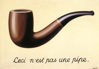 This is not a pipe - René Magritte